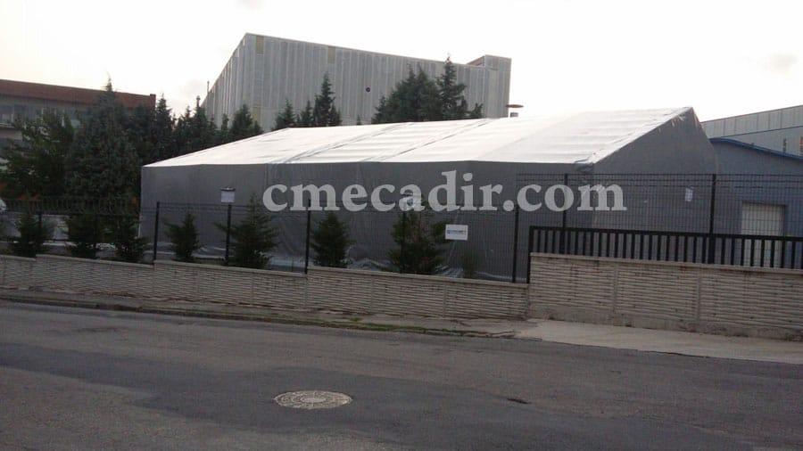 endüstriyel çadır